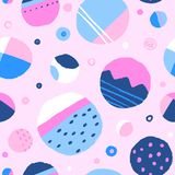 Abstract colourful rounds. stock illustration