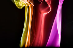 Abstract Colourful Smoke Royalty Free Stock Photo