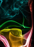 Abstract Colourful Smoke Stock Photography