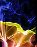 Abstract Colourful Smoke Royalty Free Stock Image