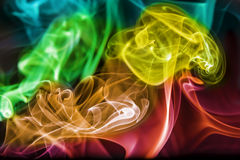 Abstract Colourful Smoke Royalty Free Stock Photos
