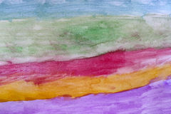 Abstract colourful watercolor background Stock Image