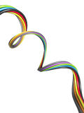 Abstract colourful wire Stock Photography