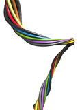 Abstract colourful wire Stock Photo