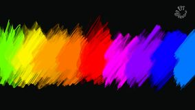 Free Abstract Colours Full Palette Banner Stock Image - 110958011