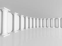 Abstract Column Indoor Interior Architecture Background Stock Photos