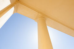 Abstract Column Outdoors Royalty Free Stock Photos