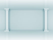 Abstract Column Wall Architecture Background Royalty Free Stock Photos