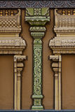 Abstract Columns. A close up of architectural detail on a temple Royalty Free Stock Image
