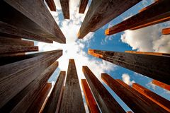 Abstract Columns Royalty Free Stock Image
