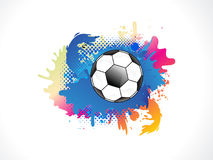 Abstract colurful grunge football Royalty Free Stock Images