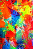 Abstract Combination of Colors Stock Image