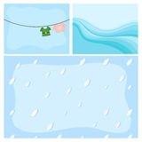 Abstract Comic Background Designs Royalty Free Stock Image