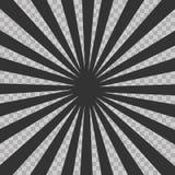 Abstract comic book flash explosion radial lines background. Vector illustration for superhero design. Bright black light strip bu. Rst. Flash ray blast glow Stock Photos