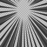 Abstract comic book flash explosion radial lines background.  Stock Image