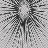Abstract comic book flash explosion radial lines background. Vector illustration for superhero design. Bright black white light st. Rip burst. Flash ray blast Stock Photo