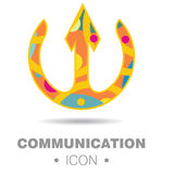 Abstract communication concept Stock Image