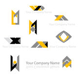 Abstract company design Stock Photography