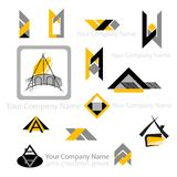 Abstract company design Royalty Free Stock Images