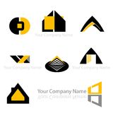 Abstract company design Stock Images