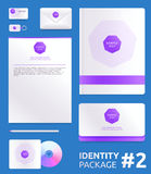 Abstract Company identity vector template Stock Photo