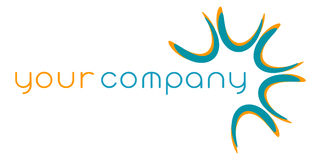 Abstract company logo Royalty Free Stock Photography