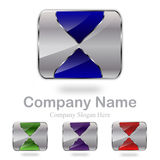 Abstract Company Logo Stock Image