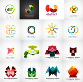 Abstract company logo collection Royalty Free Stock Photo