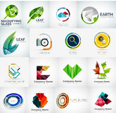 Abstract company logo collection Stock Photography
