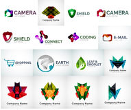 Abstract company logo collection Royalty Free Stock Image