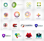 Abstract company logo collection Stock Images