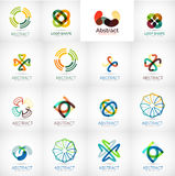 Abstract company logo vector collection Stock Photo