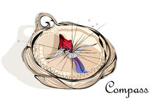 Abstract compass Royalty Free Stock Photos