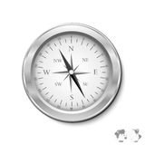 Abstract Compass, Statistics Vector Background Royalty Free Stock Photo