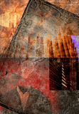 Abstract Composition Royalty Free Stock Photos