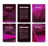 Abstract composition, business card set, correspondence letter collection, brochure title sheet, certificate, diploma, patent, cha. Rter, figure frame surface Stock Photos