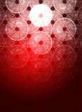 Abstract composition for Christmas background Stock Image