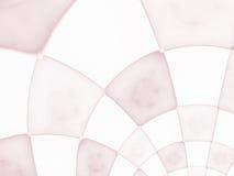 Abstract composition with circular checkered pattern Stock Photos