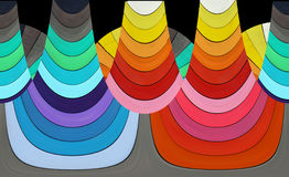 Abstract composition - colorful shapes Royalty Free Stock Photo