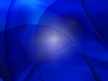 Abstract composition with curves, lines, gradients. And colorful details stock illustration