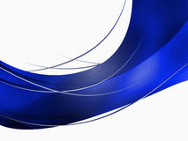 Abstract composition with curves, lines, gradients Royalty Free Stock Photos