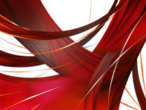 Abstract composition with curves, lines, gradients. And colorful details Royalty Free Stock Photos