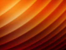 Abstract composition with curves, lines, gradients Stock Photography