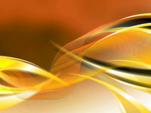 Abstract composition with curves, lines, gradients. And colorful details Stock Photo