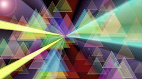 Abstract composition. Digital abstract art composition. suitable for background Stock Illustration
