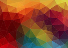Abstract composition with geometric shapes Stock Photography