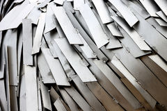 Abstract composition of metal royalty free stock photography