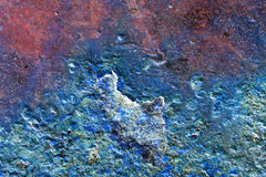 Abstract composition with metallic texture with rust for backgrounds Stock Photos
