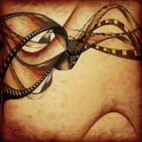 Movie frames or film strip Royalty Free Stock Photos