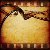 Movie frames or film strip Stock Photography